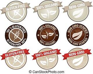 alimento, etiqueta