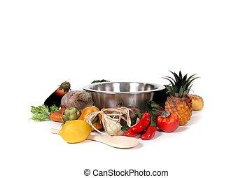 alimento, foto, cocina, fantasía, fondo digital,...