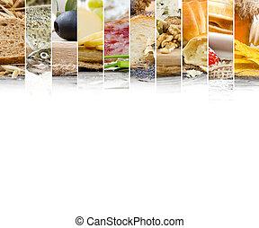 alimento francés, mezcla