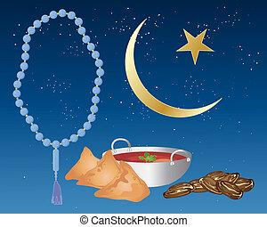 alimento, iftar