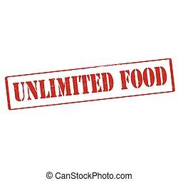 alimento, ilimitado