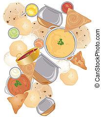 alimento, indio