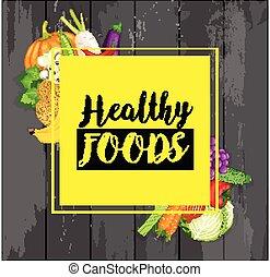 alimento natural, plano de fondo
