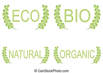 alimento orgánico, etiquetas