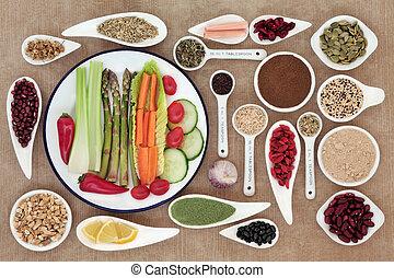 alimento, perda, peso