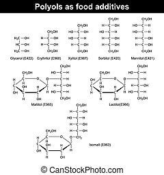 alimento, polyols, additives