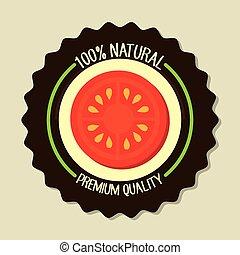 alimento, produto, natural
