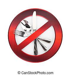 alimento, proibidas