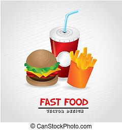 alimento, rápido