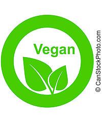 alimento, símbolo, vegetariano