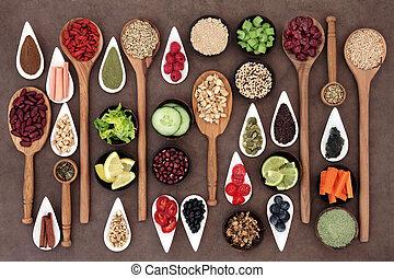 alimento, salud, dechado