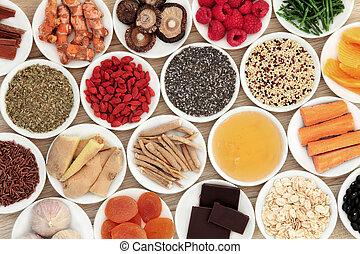 alimento, salud