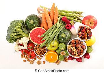 alimento, salud, ingrediente