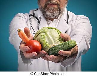 alimento sano, concept.
