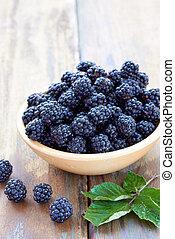 alimento sano, zarza, fruta