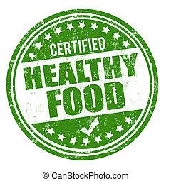 alimento saudável, selo