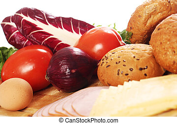 alimento saudável, tabela