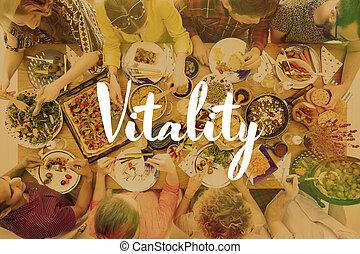 alimento, saudável, vegan