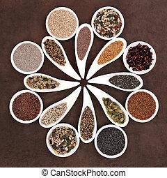 alimento, semilla, dechado