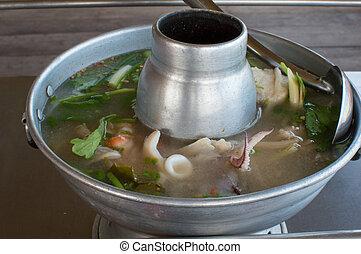 alimento, tailandês
