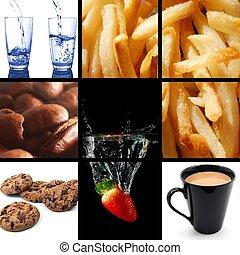 alimento y bebida