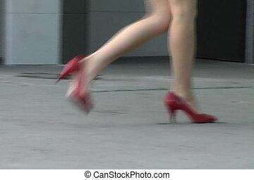 alina's, jambes, pulpeux