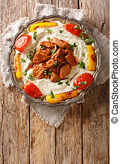 Alinazik kebab is a home-style Turkish dish which is a ...