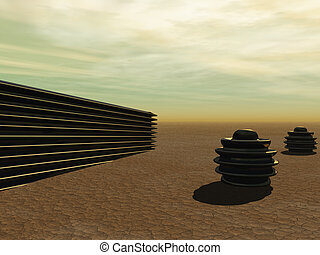 alines, en, el, desierto