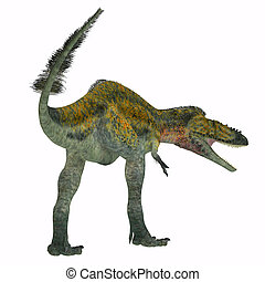 Alioramus Dinosaur Tail