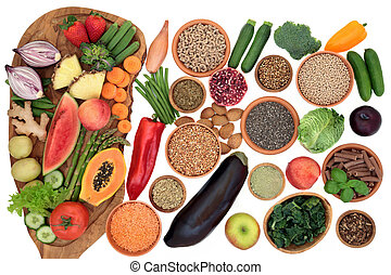 Alkaline Health Food Sampler