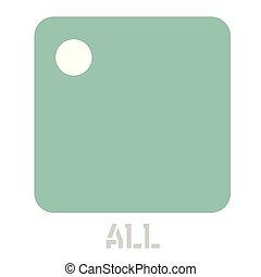 All conceptual graphic icon