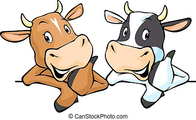 All cows recommend with thumb up -