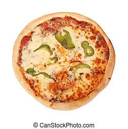 all-dress, pizza