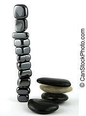 All in the Balance - 11 Smaller stones balancing perfectly ...