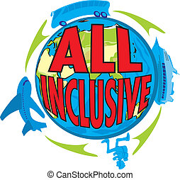 all inclusive - holiday offer - travel time and rest,...