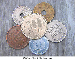 All Japanese coins in use now