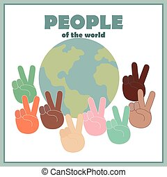 All nationalities and the world
