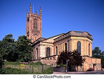 All Saints Cathedral, Derby. - All Saints Cathedral, Derby, ...