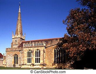 All Saints Church, Evesham, UK.