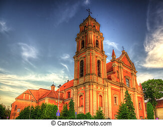 All Saints Church in Vilnius, Lithuania