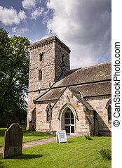 All Saints Church-Village of Hovingham