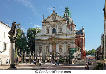 All Saints Parish Church in Krakow