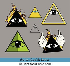 All-Seeing Eye of God Vector Symbol