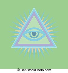 All-Seeing Eye (The Eye of Providence) - All-Seeing Eye of...
