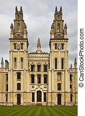 All Souls College - Oxford - United Kingdom