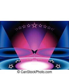 All stars club - Glamor ALL STARS night club scene interior