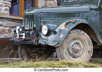 all-terrain, uaz, vehículo