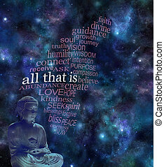 ALL THAT IS deep space background
