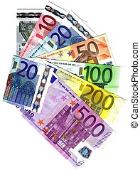 ALL THE EURO BANKNOTES