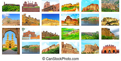 all the forts in india - twenty three famous forts in india